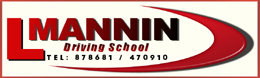 Check out sponsor Mannin Driving